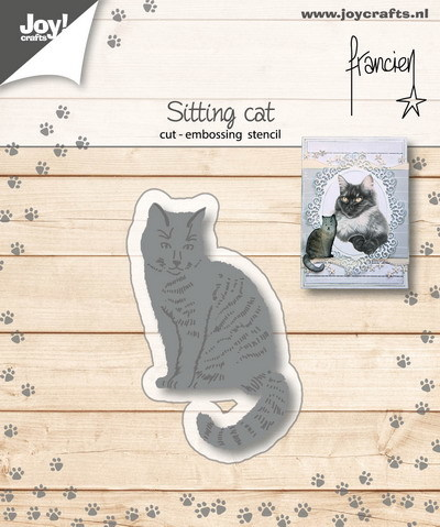 Joy! crafts - Die - Franciens Kat zittend - 6002/1151