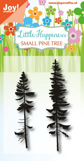 Joy! crafts - Noor! Design - Clearstamp - Little Happiness - Small Pine Tree - 6410/0489