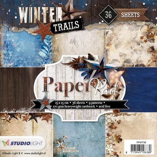Studio Light - Paperpack - Winter Trails - Nr. 98 - PPWT98