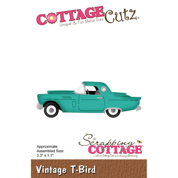 Cottage Cutz - Die - Vintage T-Bird - CC-481