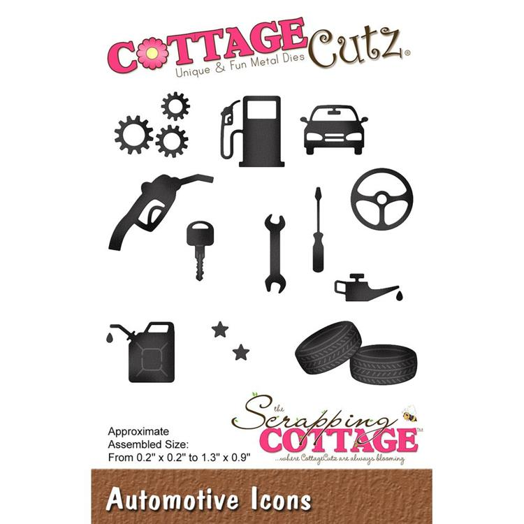 Cottage Cutz - Die - Automotive Icons - CC-468