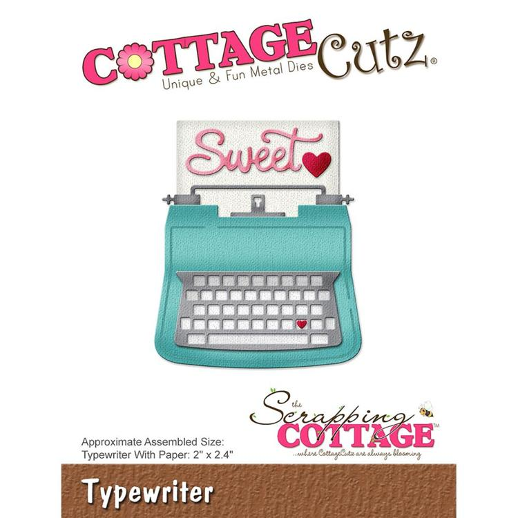 Cottage Cutz - Die - Typewriter - CC-272