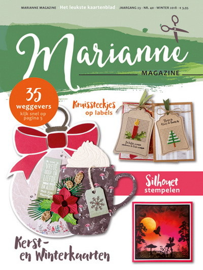 Marianne Design - Marianne Doe - Magazine No. 40 - DOE40