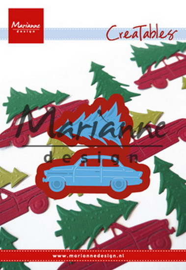 Marianne Design - Die - CreaTables - Driving home for Christmas - LR0567