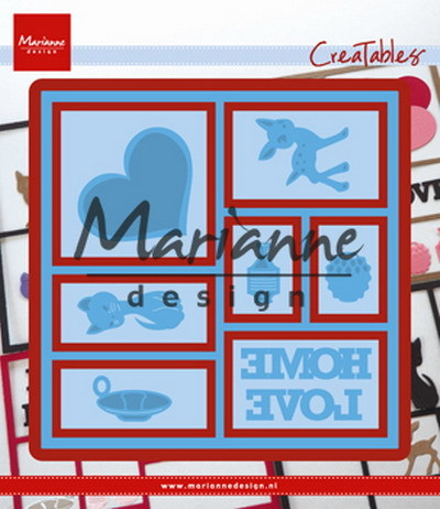 Marianne Design - Die - CreaTables - Layout - LR0568