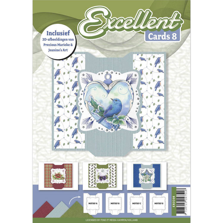 Card Deco - Excellent Cards - Book No. 08 - EXCC08