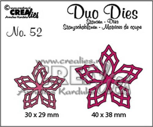 Crealies - Die - Duo Dies - No. 52 - CLDD52