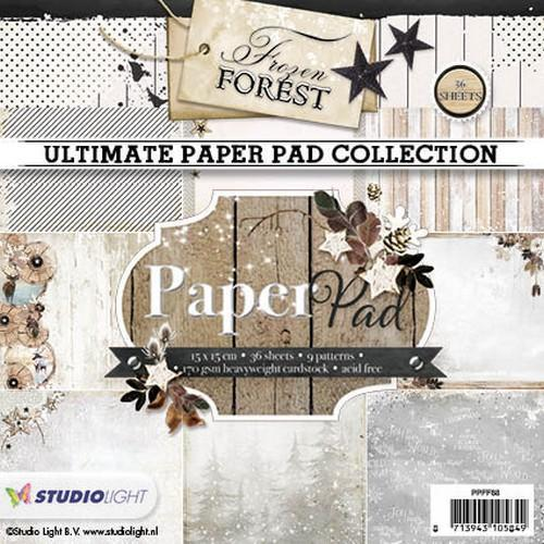 Studio Light - Paperpack - Frozen Forest - Nr. 88 - PPFF88
