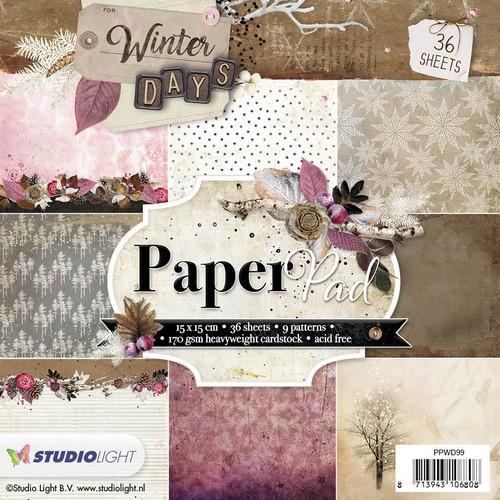 Studio Light - Paperpack - Winter Days - PPWD99