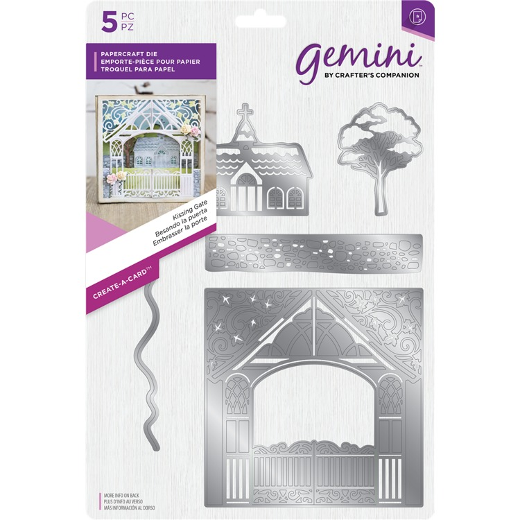 Gemini - Die - Create-a-Card - Kissing Gate - GEM-MD-CAD-KISSG