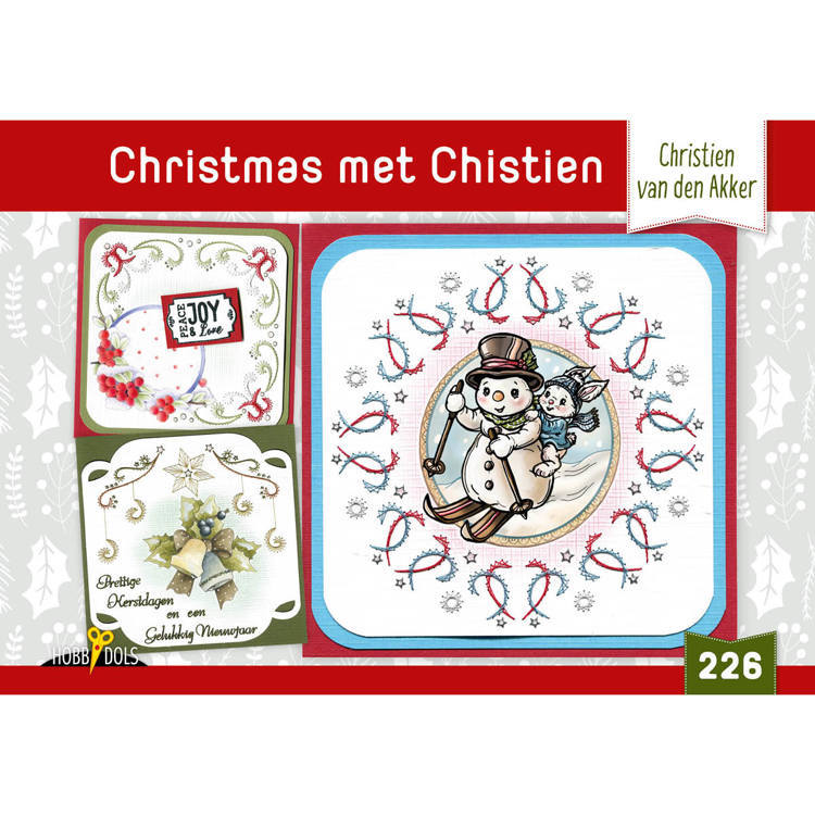 Card Deco - Hobbydols - No. 226 - Christmas met Christien - HD226
