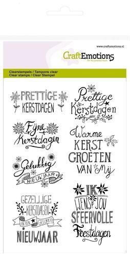 CraftEmotions - Clearstamp - Christmas Handlettering - 130501/1267