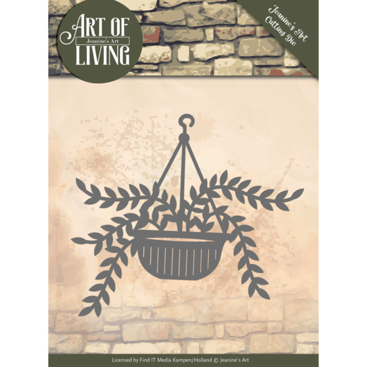 Jeanine`s Art - Die - Art of Living - Hanging Plant - JAD10056
