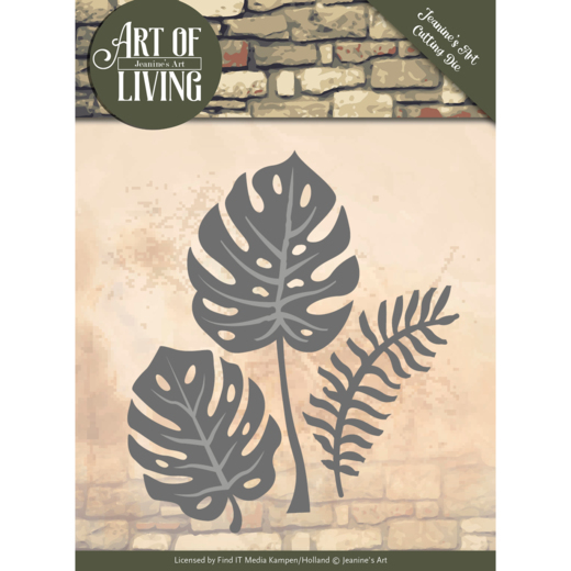 Jeanine`s Art - Die - Art of Living - Leaves - JAD10055
