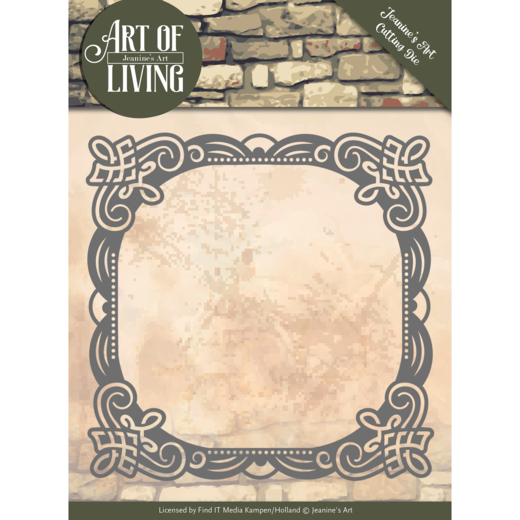 Jeanine`s Art - Die - Art of Living - Frame - JAD10053