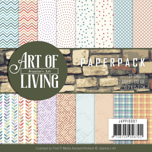 Jeanine`s Art - Paperpack - Art of Living - JAPP10007
