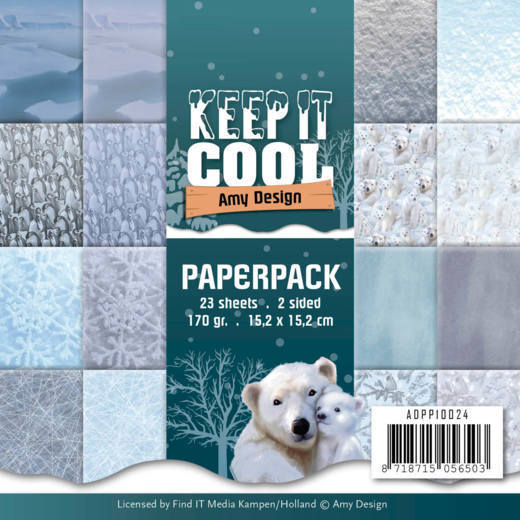Amy Design - Paperpack - Keep it Cool - ADPP10024