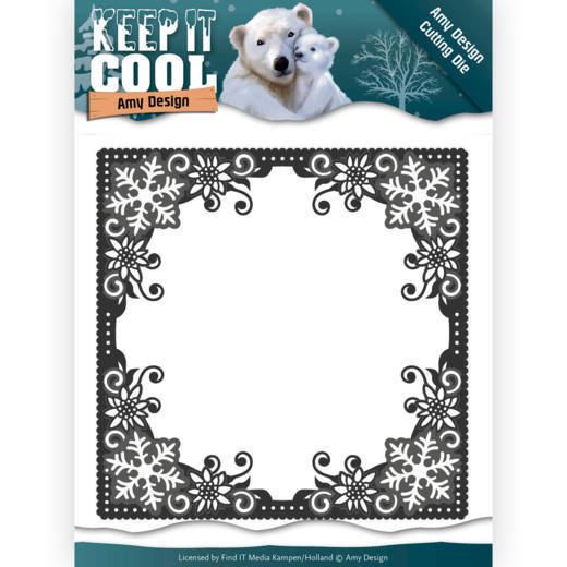Amy Design - Die - Keep it Cool - Cool Square Frame - ADD10158