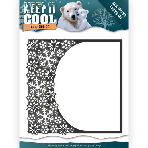 Amy Design - Die - Keep it Cool - Cool Rounded Frame - ADD10159
