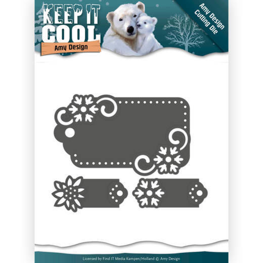 Amy Design - Die - Keep it Cool - Cool Tags - ADD10164