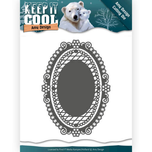 Amy Design - Die - Keep it Cool - Keep it Oval - ADD10161