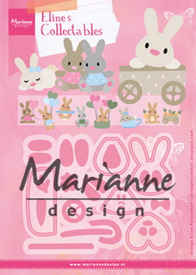 Marianne Design - Die - Collectables - Eline's Baby Bunny - COL1463