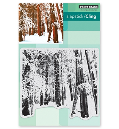 Penny Black - Cling Stamp - Snow Forest - 40-634