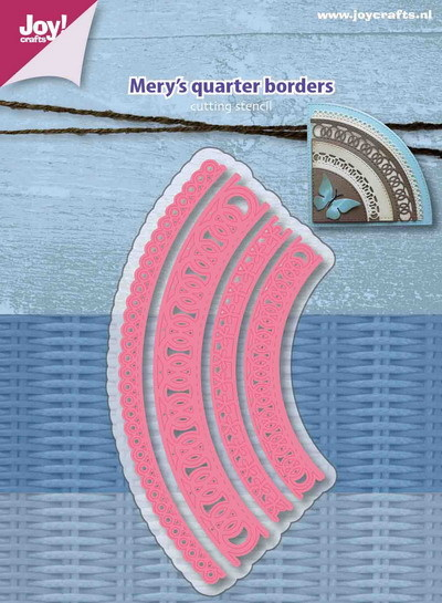 Joy! crafts - Die - Mery's - Quarter borders - 6002/1160