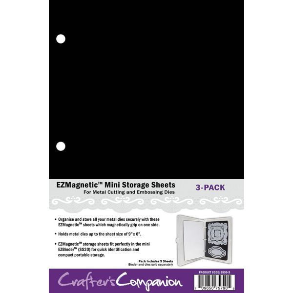 EZMount - EZMagnetic - Mini Storage Sheets - SS30-3