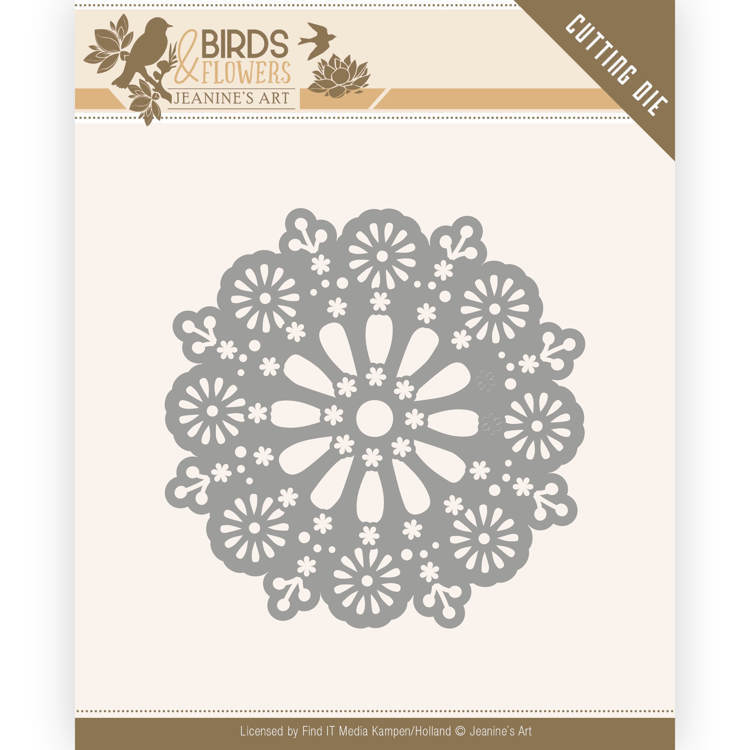 Jeanine`s Art - Die - Birds and Flowers - Daisy Circle - JAD10060