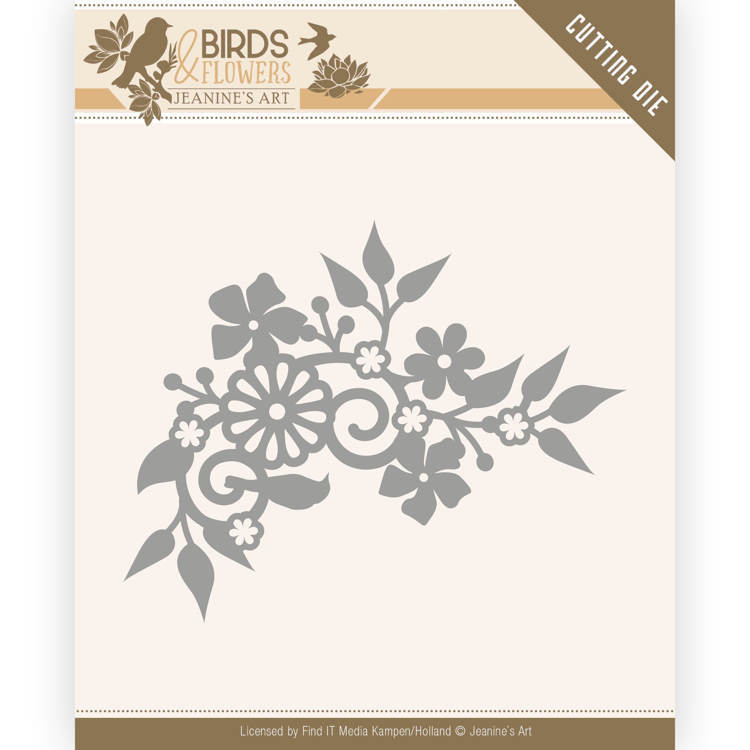 Jeanine`s Art - Die - Birds and Flowers - Birds Corner - JAD10062