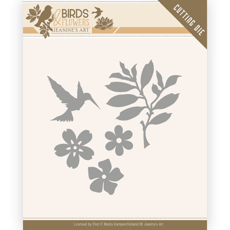 Jeanine`s Art - Die - Birds and Flowers - Birds Foliage - JAD10063