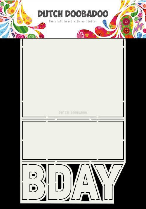 Dutch Doobadoo - Card Art - B-Day - 470.713.698