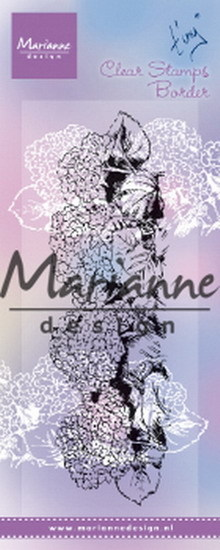 Marianne Design - Clearstamp - Tiny`s Border Hydrangea - TC0871