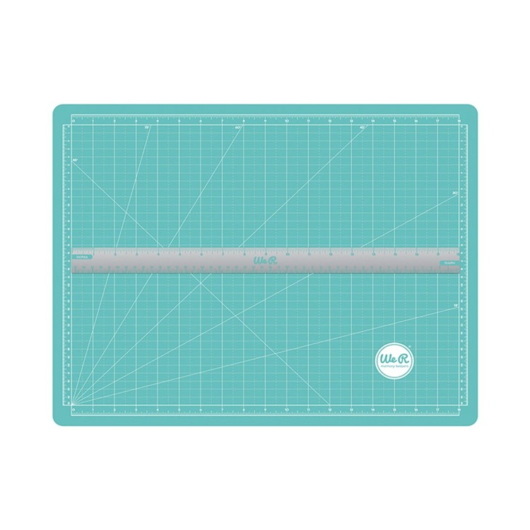 We R Memory Keepers - Magnetic Cutting Mat & Ruler - 70938-1