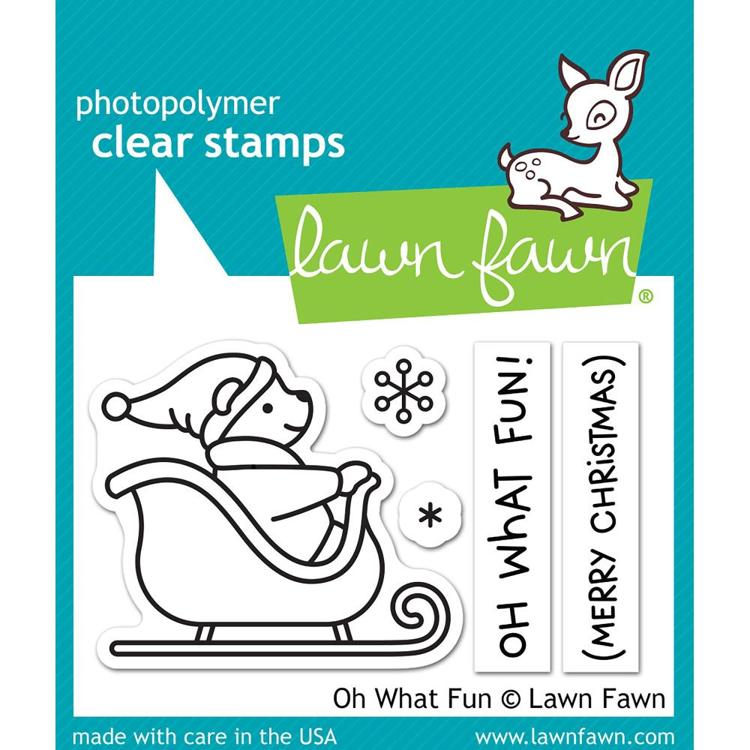 Lawn Fawn - Clearstamps - Oh What Fun - LF1776