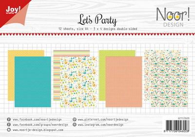 Joy! crafts - Noor! Design - Paperset - Let's Party - 6011/0609