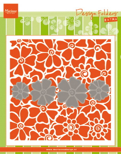 Marianne Design - Design Folder - Extra poppies - DF3452