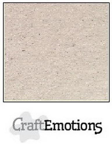 CraftEmotions - Karton - 305 x 305mm - Craft: Krijtwit - 0710