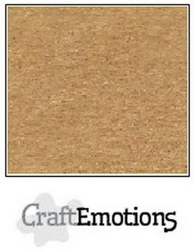 CraftEmotions - Karton - 305 x 305mm - Craft: Lichtbruin - 0730