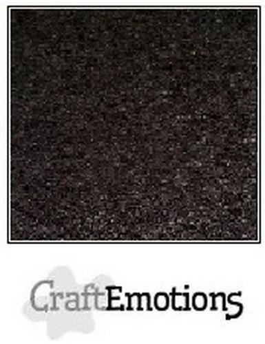 CraftEmotions - Karton - 305 x 305mm - Craft: Zwart - 0760