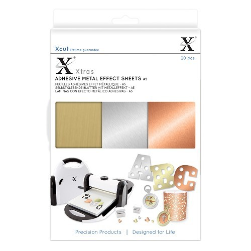 XCut - Adhesive Sheets - Metal Effect - XCU174409