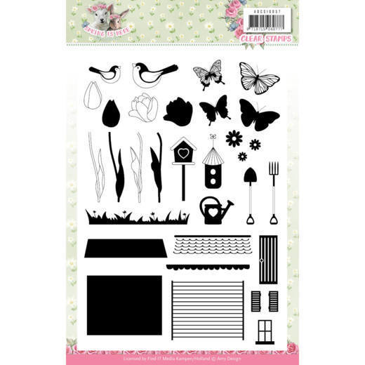 Amy Design - Clearstamp - Spring is here - ADCS10057