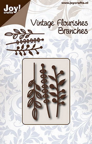 Joy! crafts - Die - Vintage Flourishes - Branches - 6003/0091
