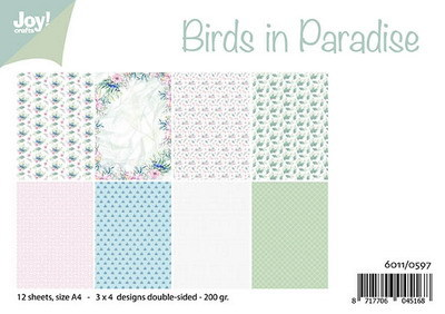 Joy! crafts - Paperset - Birds in Paradise - 6011/0597