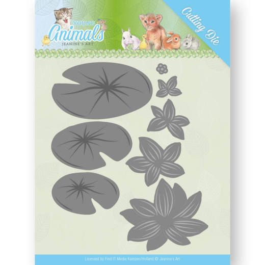 Jeanine`s Art - Die - Young Animals - Lily Pond Leaves - JAD10069