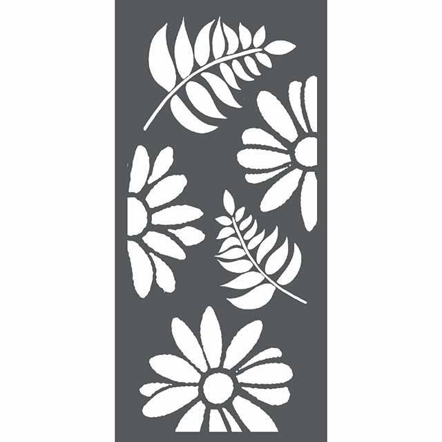Stamperia - Maskingstencil - Flowers & Leaves - KSTDL24