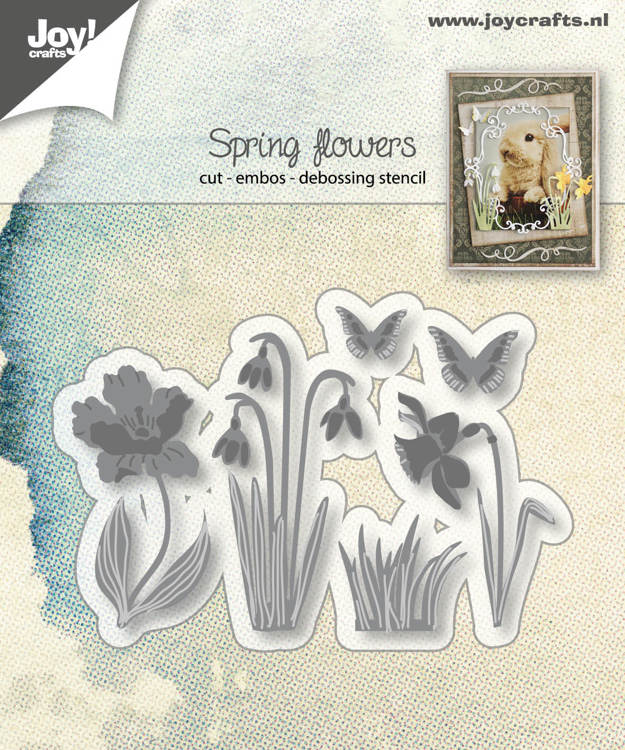 Joy! crafts - Die - Springflowers - 6002/1280