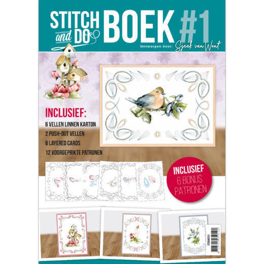 Card Deco - Stitch and Do - Boek No. 01 - STDOBB001
