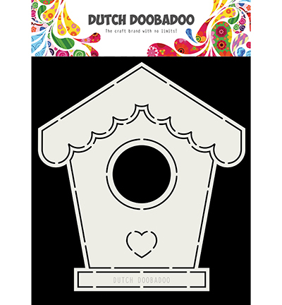 Dutch Doobadoo - Card Art - Birdhouse - 470.713.710